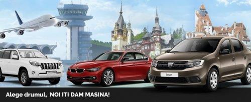 Mașini de închiriat în Cluj Napoca